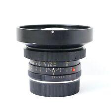 Leica Elmarit-R 19mm f/2.8 3-cam SLR Super Wide Angle Cine Lens Canada V1 11225