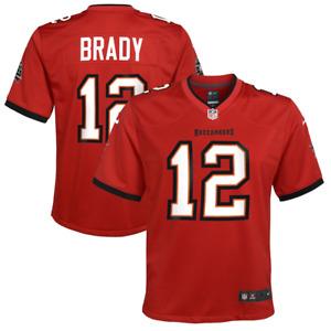 Tampa Bay Buccaneers Jersey (MY 10-12 Years) Kids Nike Jersey - Brady 12 - New