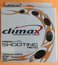 Climax Shooting Head ST 9F 365 Grain 31.5 ft.Floating Fly Line W/Loops