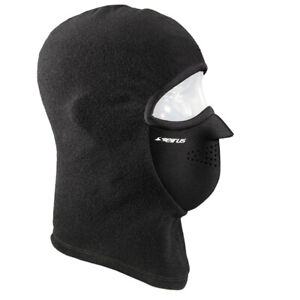 Seirus Combo Clava | Black Fleece Face Mask Baclava | 2880