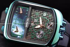 Invicta Men's 42mm S1 Rally Choronozone Dakar Green Triple Time MOP Swiss Watch