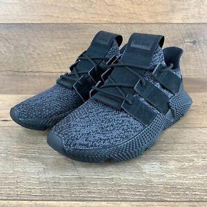 "NIB Adidas Prophere ""BLACK"" Lifestyle CQ2126 Pull on Sneaker Men's Size 9 US"
