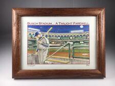 2005 Busch Stadium St Louis Cardinals Twilight Farewell  202/1200 Dan Martin