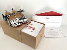 Christian Louboutin Baby Girls Shoe Goop Capsule Collection Wallgraf Black White