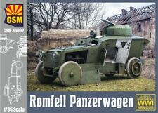 Copper State Models 1/35 Romfell Panzerwagen Wwi Armored Car