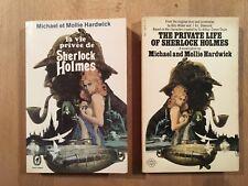 La vie privée de Sherlock Holmes - Livre de Poche (VF + VO) - TBE/NEUF