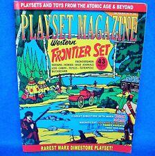 playset magazine #79 Marx Frontier playset+Lido+TimMee knights+Robin Hood