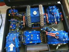 OOP Ultramarine Army Warhammer 40K 2xCases Land Raider Metal Speeder Terminators