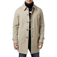 TOMMY HILFIGER Finn Khaki Cement Gray Raincoat Jacket...