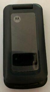 READ BEFORE U BUY Motorola i410 Black (Boost Mobile) Cellular Phone Vintage Good