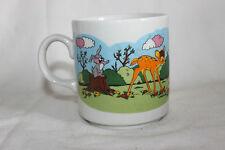 Mug Cup Tasse à café Disney Cipa Italy Bambi Bunny Reindeer Butterfly
