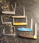 Vintage Pocket Knife Lot Of 7 Please See Full Description