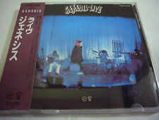 GENESIS-Live JAPAN 1st.Press w/OBI 32VD-1028 Peter Gabriel Phil Collins Yes Rush