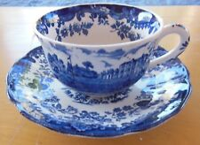 Royal Worcester 1790 Avon Scenes Palissy Cup & Saucer - England