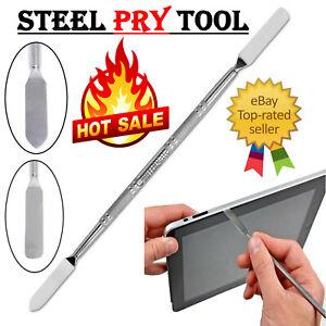 Opening Tool Metal Spurger Pry Bar Stick For iPad Samsung Mobile Phone Laptop UK