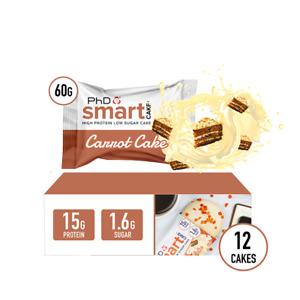 PHD SMART CAKE CARROT CAKE - 12 PACK