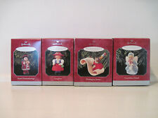 Lot of 4 Hallmark Keepsake Ornament, 1998