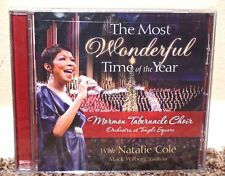 NEW The Most Wonderful Time of the Year Mormon Tabernacle Choir Natalie Cole CD