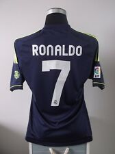 CRISTIANO Ronaldo #7 REAL MADRID AWAY FOOTBALL SHIRT JERSEY 2012/13 (M)