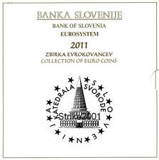 Euro SLOVENIA 2011 Folder Ufficiale 10 monete FDC