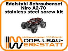 XXL Edelstahl Schrauben Set HPI Savage Flux HP Niro A2 stainless steel screw kit