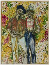 "BILLY CHILDISH 'Father w/ Son', 2013 SIGNED Limited Edition Print 15"" x 12"" NEW!"