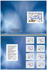 A380-108CA Carnet Collector ERREUR COUVERTURE 8 TPP A380 1er Vol Paris-New York
