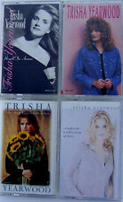 Set Of 4 Trisha Yearwood Audio Cassettes, Hearts in Armor, Songbook, Remembers