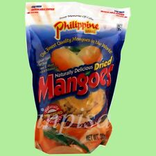 PHILIPPINE DRIED MANGOES 1 BAG x 30oz (850G) FRUIT SNACK SLICES MANGO FAT FREE