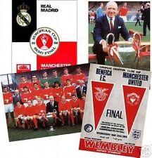 Manchester United 1968 Européenne Tasse carte postale Set
