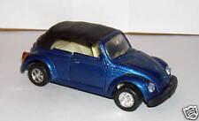 VOITURE COX VW KAFER COCCINELLE bleue avec capote 1/36