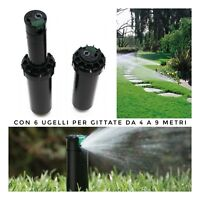 Irrigatore da giardino dinamico pop up irrigazione prato a turbina Hunter Srm 4