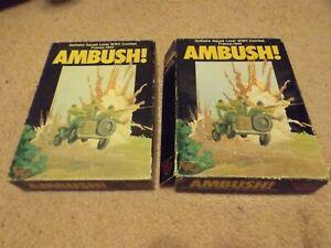 Ambush! Solitaire WWII Combat- Complete w/extras! Purple Heart extras