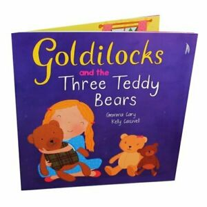 Gemma Cary Goldilocks and the Three Teddy Bears Book The Cheap Fast Free Post