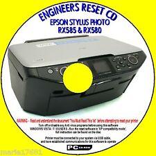 EPSON Stylus RX580 RX585 STAMPANTE rifiuti Ink Pad CONTATORE ingegneri Reimposta PCCD NUOVO
