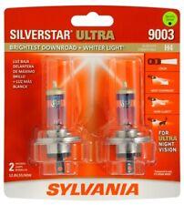 Sylvania Silverstar Ultra 9003 / H4 60/55W Two Bulbs Head Light High Low Beam