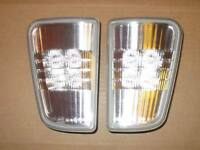 CADILLAC STS LED CLEAR REVERSE BACKUP LIGHTS SET NEW OEM GM