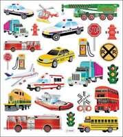 Multicolored Stickers Transportation 679924421712