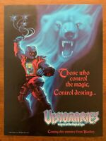 1987 Hasbro Visionaries Authentic Vintage Print Ad/Poster Rare 80s Toys