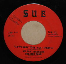 Wilbert Harrison One Man Band Let's Work Together Part 1 / Part 2 1969 R+B 45