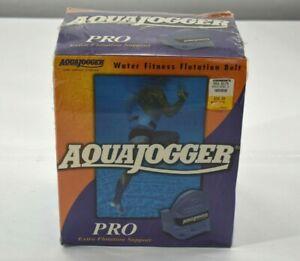 Vintage AquaJogger Water Fitness Flotation Belt Pro Extra Support Blue Adult