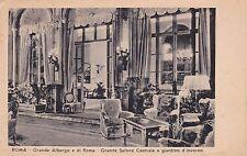 ROMA - GRANDE ALBERGO DI ROMA (oggi HOTEL PLAZA ) - grande salone 1948