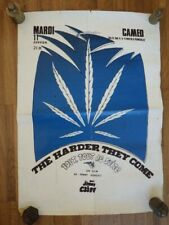 Affiche Cinema JIMMY CLIFF The Harder They Come CAMEO NANCY vers 1973 rare