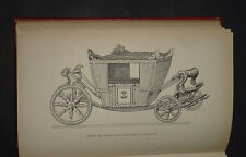 THE HISTORY OF COACHES by G Thrupp : Transport / War Chariots / Roads / War 1877