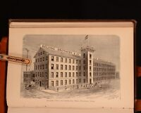 1876 The Silk Industry in America Brockett First Edition Illustrated Uncommon