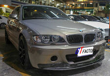 NEW FOR BMW E46 M3 ONLY CARBON FRONT LIP SPOILER CSL STYLE
