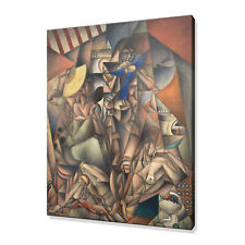 The Blue Bird Jean Metzinger Canvas Print Picture Wall Art fast delivery