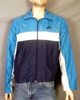 vtg 80s Nike Blue Tag Full Zip Windbreaker Jacket Colorblock Vaporwave sz M