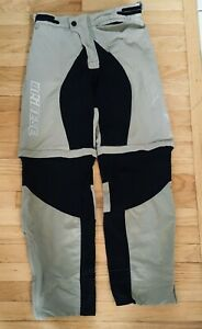 Dainese Cycling pants with padded seat and zip off legs. Size large womens
