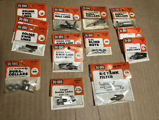 DU-BRO Model Airplane Parts 13 Packages